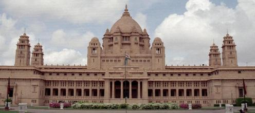 Umaid Bhawan in Jodhpur